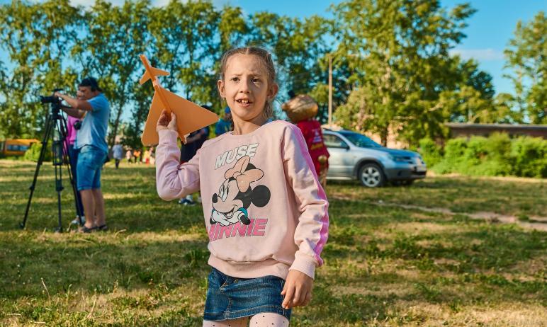 В канун Международного Дня защиты детей в Челябинске на площадке школы-интерната номер девять при