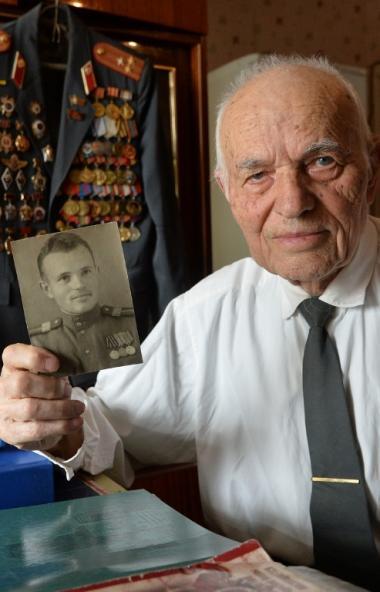 Ветеран Великой Отечественной войны из города Копейска (Челябинская область) Иван Иванович Кончен