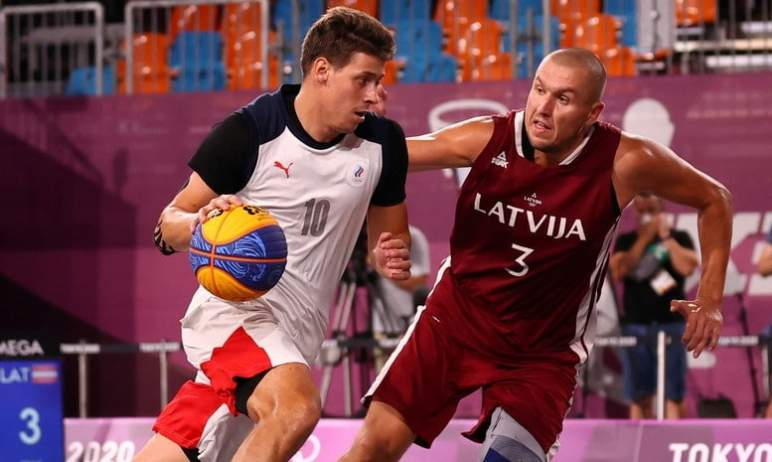 На Олимпийских играх в Токио завершился турнир по баскетболу 3х3. Российская мужская команда в др