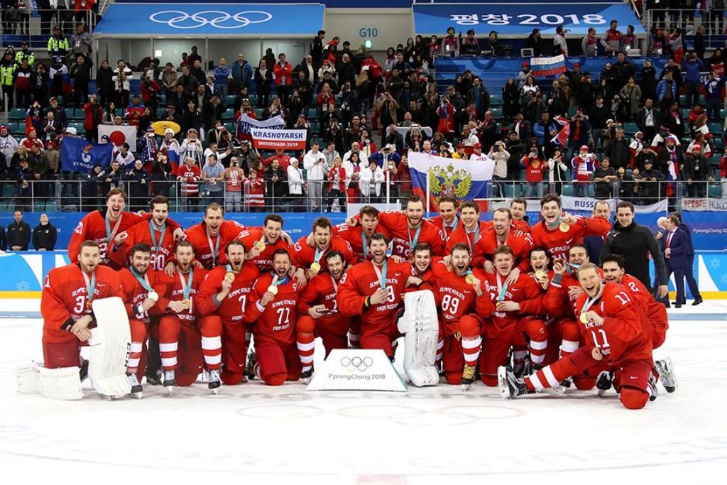 Сегодня, 25 февраля, российские хоккеисты в финальном матче олимпийского турнира в Пхёнчхане в тя