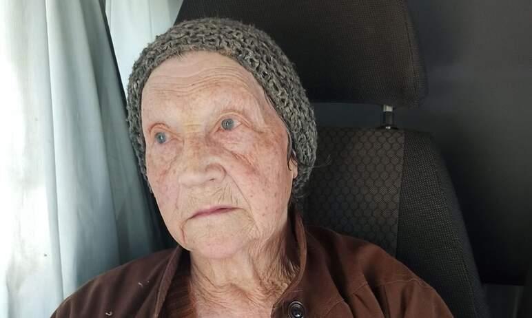 Сотрудники полиции Южноуральска (Челябинская область) устанавливают личность неизвестной пожилой