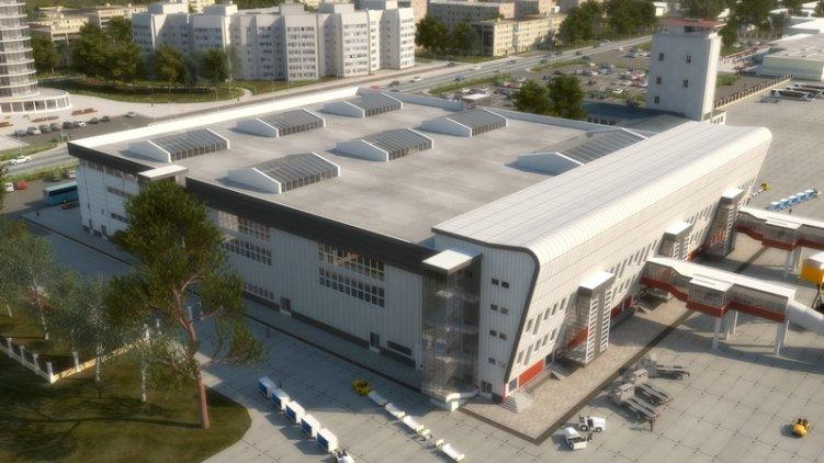 «Аэровокзал первой очереди по площади будет более, чем на 50% превышать весь комплекс сооружений,