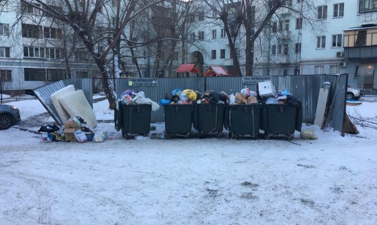 В Челябинской области часть техники регионального оператора - ООО «Центр коммунального сервиса» -