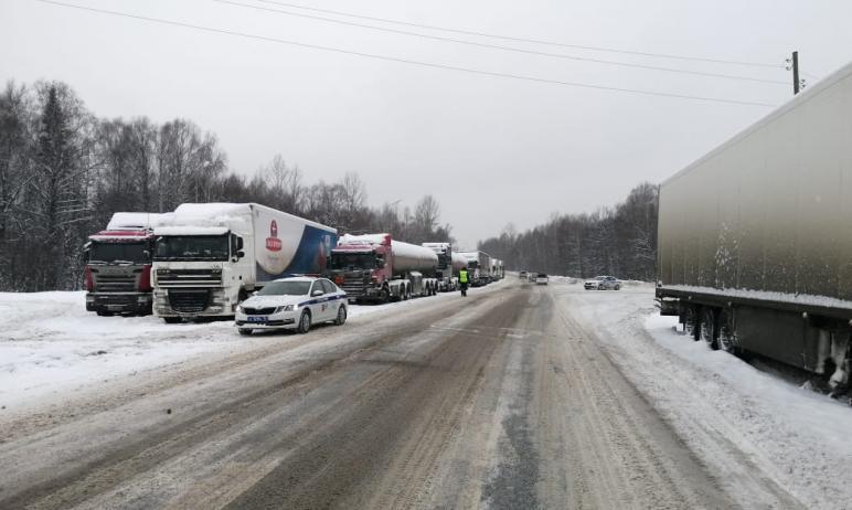 В Челябинской области снято ограничение на движение большегрузного автомобильного транспорта по о