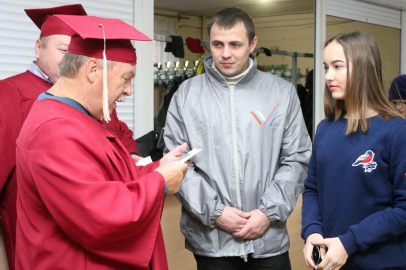 Организаторами акции под названием «Татьянка» стали активисты молодежного отделения Общероссийско