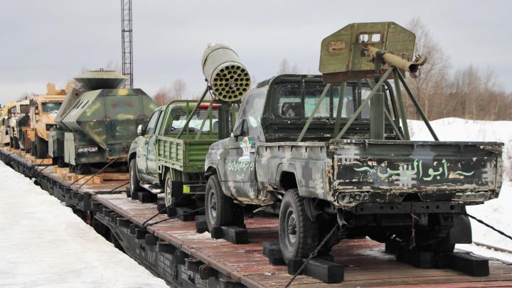 В Челябинск прибудет уникальная передвижная военно-патриотическая выставка трофейной техники и во