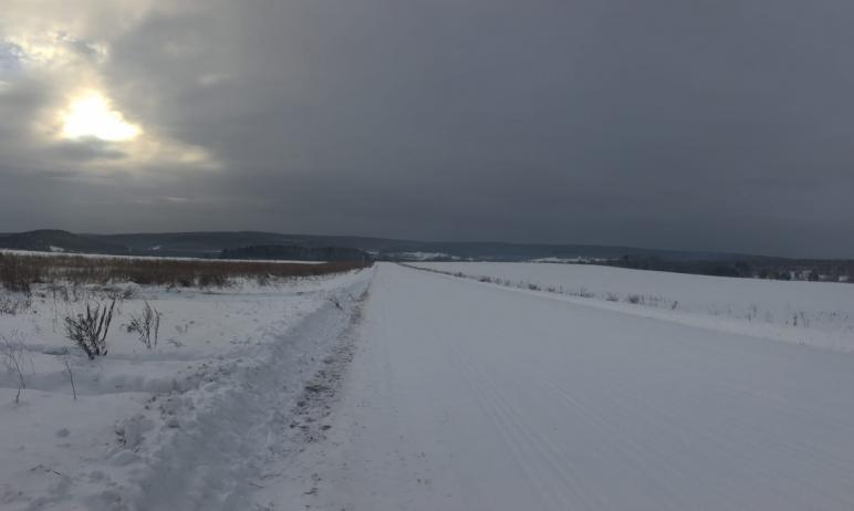 В Челябинской области снегопады, которые в ряде территорий перевыполнили месячную норму, прекрати