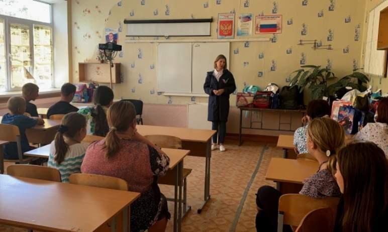 В Челябинской области волонтеры Общероссийского народного фронта подготовили к новому учебному го