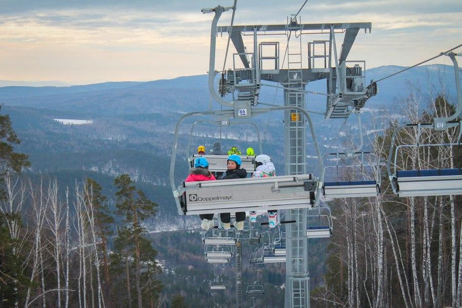 Традиционный осенний курс пройдет с 1 по 7 ноября. Учебная трасса покрыта снегом и