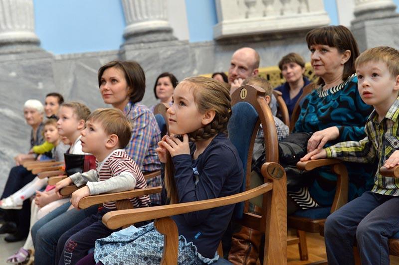 В Концертном зале имени Прокофьева продолжится цикл «Концерты в ползунках» - особый формат для де