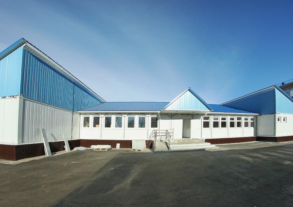 Необычное для региона дошкольное учреждение было возведено в поселке Красное поле Сосновского рай