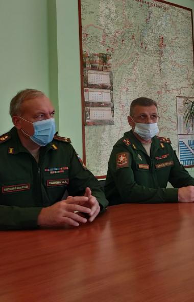 Военный комиссар Челябинской области Андрей Максуров сегодня, первого октября, объявил о старте о