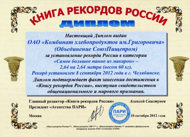 Напомним, рекорд был установлен 8 сентября 2012 года, когда
