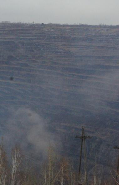 Объемы выбросов в атмосферный воздух от отработанной выработки угольного разреза «Коркинский» (Че
