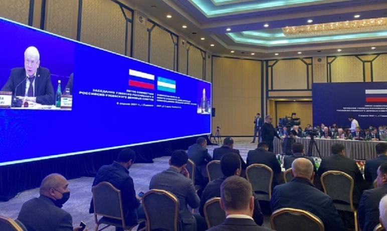 В Ташкенте состоялось пятое совместное заседание Российско-Узбекского и Узбекско-Ро