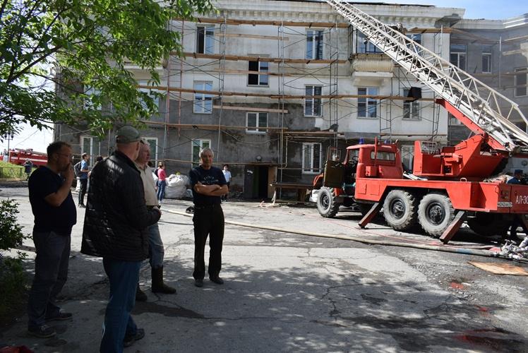 В Саткинском районе (Челябинская область), где в минувшие выходные загорелся жилой дом, создана д