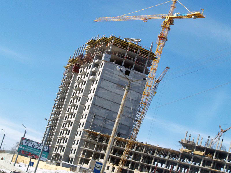 Челябинская область занимает второе место по объемам ввода жилья в Уральском федеральном округе п