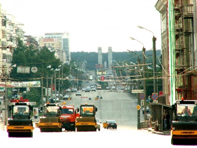 На участке от улицы Тарасова до улицы Воровского, сообщает пресс-служба городской адмнистрации. Д