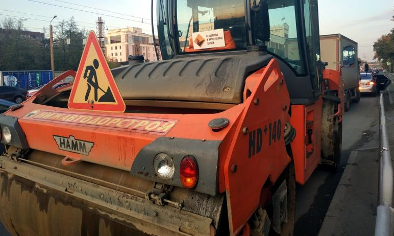 В Челябинске строительство участков дорог на северо-западе впервые проходит с помощью федеральной