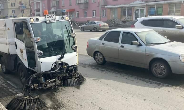 Главе Челябинска Наталье Котовой не понравилось качество уборки улиц города подр