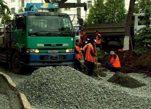 Близятся к завершению работы по капитальной реконструкции одной из основных транспортных магистра