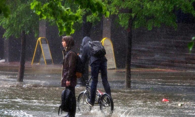 В четверг, третьего июня, в Челябинской области ожидаются сильные и очень сильные дожди, сильные