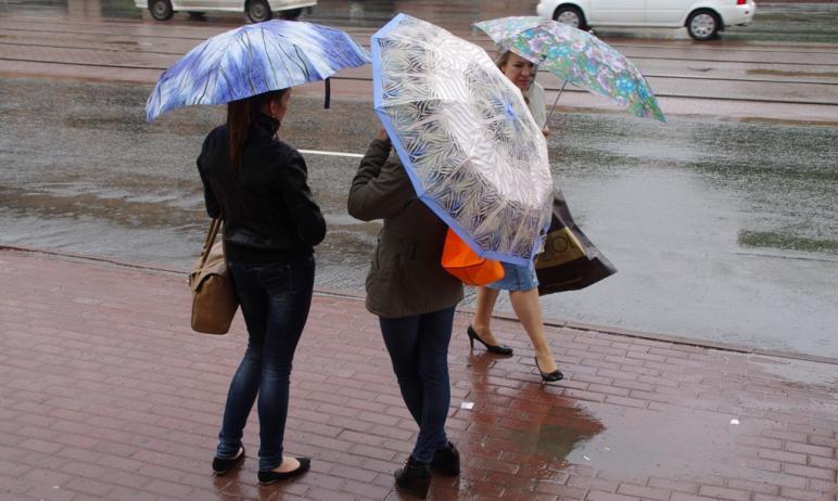 В Челябинской области прогнозируются дожди, местами сильные, грозы, град, шквалистый ветер на фон