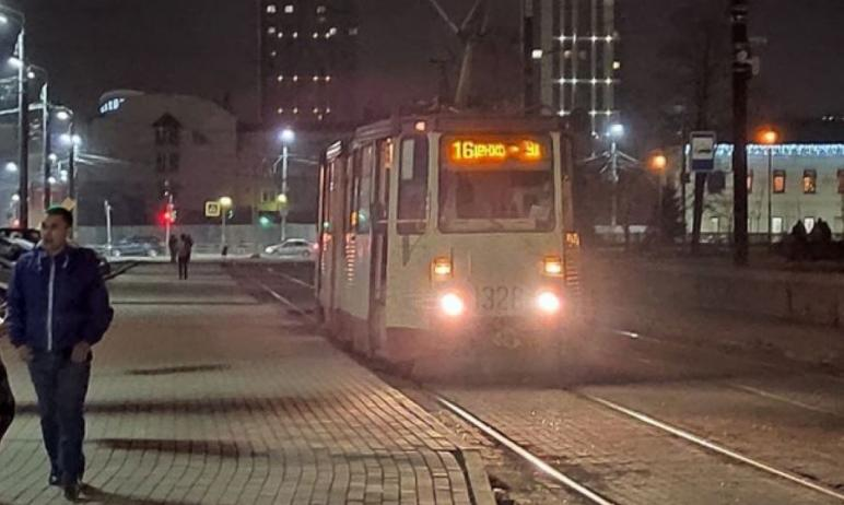 В Челябинске к радости горожан, передвигающихся на трамваях, городские власти запустили новую ост