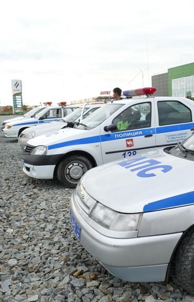 Госавтоинспекция Челябинска просит откликнуться очевидцев аварии с участием четырех автомобилей.