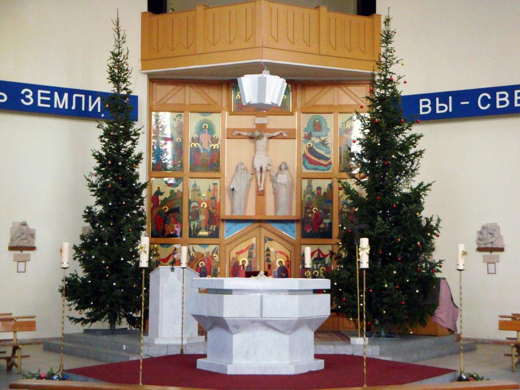 В понедельник, 24 декабря, в католическом храме в Металлургическом районе Челябинска начнётся пра