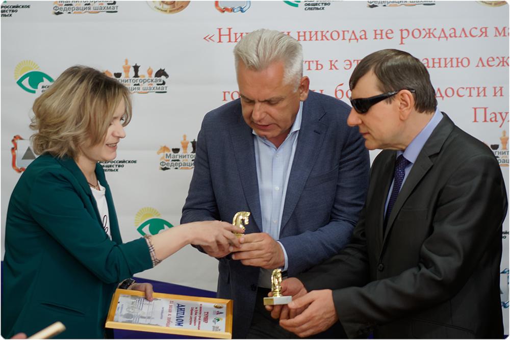 В Магнитогорске (Челябинская область) прошел шахматный турнир среди инвалидов. Победители получил
