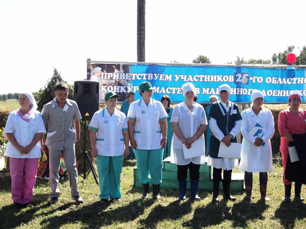 Программа конкурса была традиционной и состояла из трех этапов: доение двух коров с помощью доиль