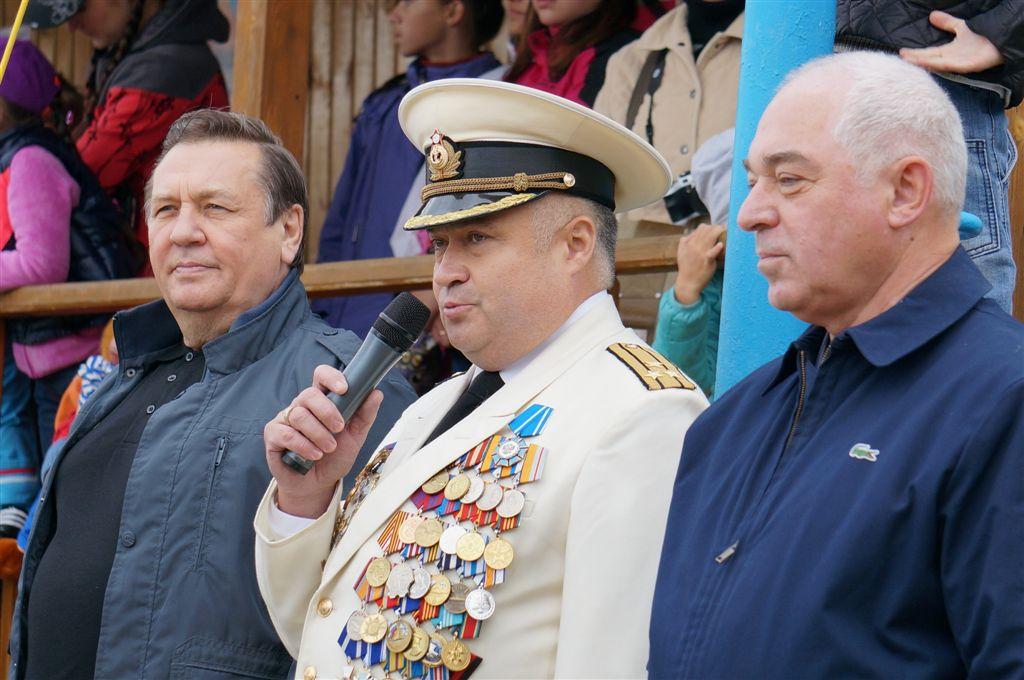 «День Военно-Морского Флота – один из профессиональных праздников нашего предприятия, - говорит г