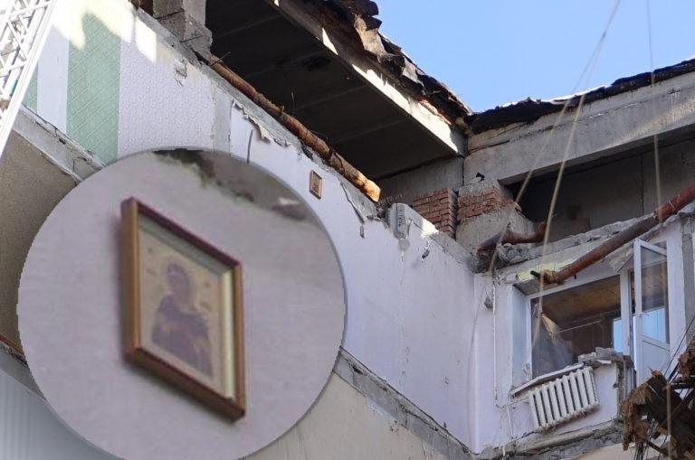 Реабилитация чудом спасенного из-под завалов частично разрушенного жилого дома в Магнитогорске (Ч