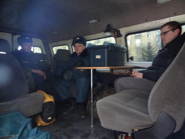 На совещании присутствовали председатели комиссий пре чрезвычайным ситуациям Челябинской, Свердло