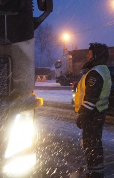 В Челябинской области сегодня, 20-го декабря, - неблагоприятные погодные условия. Упрдор «Южный У