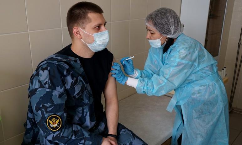 В ГУФСИН России по Челябинской области активно продолжается вакцинация от новой коронавирусной ин