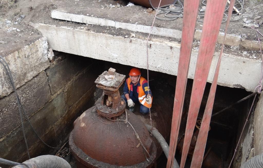 Сегодня в Копейске приостановлена работа водопроводной насосной станции. Коммунальщики работают н