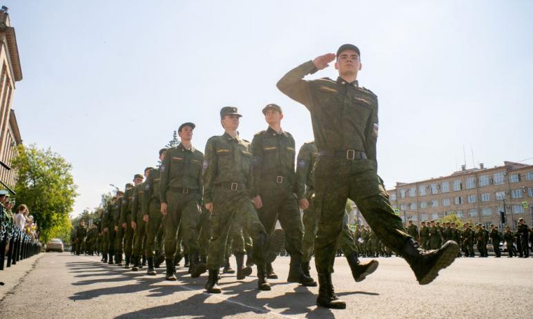 В Южно-Уральском государственном университете состоялся выпуск слушателей Военного учебного центр