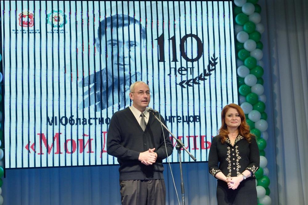 В Челябинске с успехом прошел финалVIобластного конкурса чтецов, посвященный 110-летию со