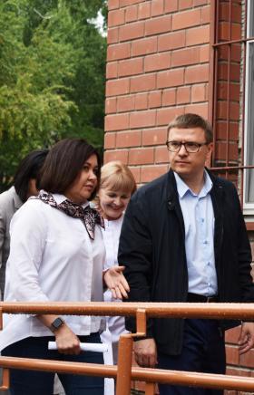 Начальник управления здравоохранения администрации Челябинска Наталья Горлова пр