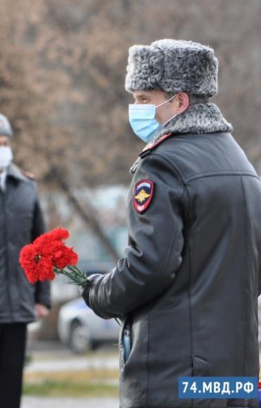 В рамках дня памяти сотрудников органов внутренних дел, погибших при исполнении служебных обязанн