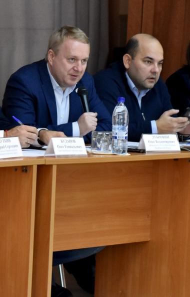Делегация Общественной палаты Челябинской области, возглавляемая председателем ОП Олегом Дубровин
