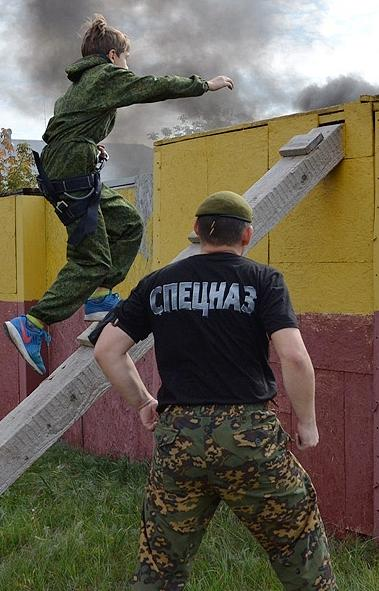 В Магнитогорске (Челябинская область) на базе отряда мобильного особого назначения Росгвардии сос