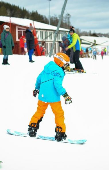 12 и 13 февраля на горнолыжном курорте «Солнечная долина» состоятся детские соревнования по сноуб