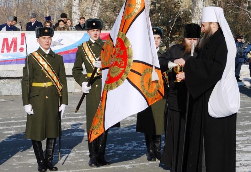 Как сообщили агентству «Урал-пресс-информ» в пресс-службе Центрального военного округа, знамя нов