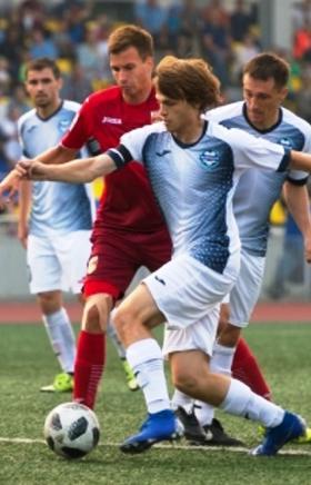 В первом домашнем матче нового сезона ОЛИМП первенства России по футболу в профессиональной футбо