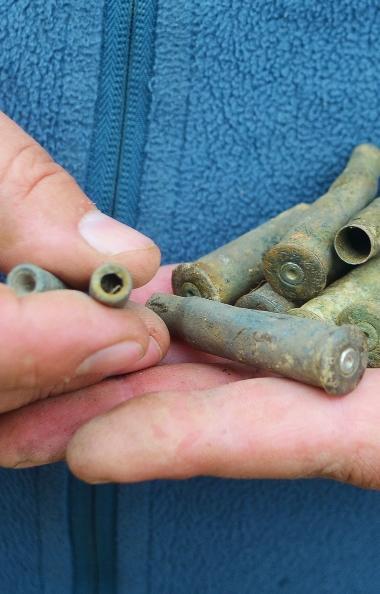 Челябинские поисковики в минувшие выходные обнаружили следы боев времен Гражданской войны в Увель