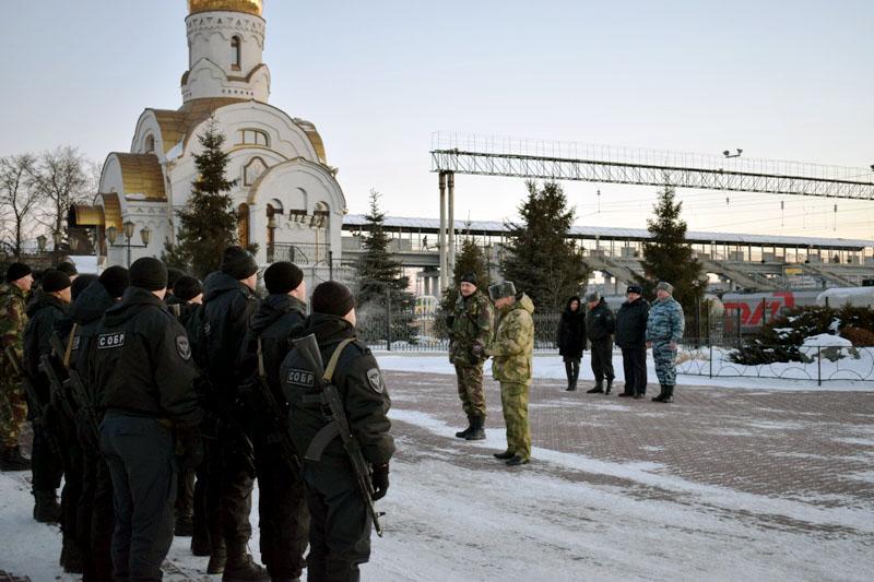 Врио начальника управления Росгвардии региона полковник Ермек Абилов поблагодарил личный состав С