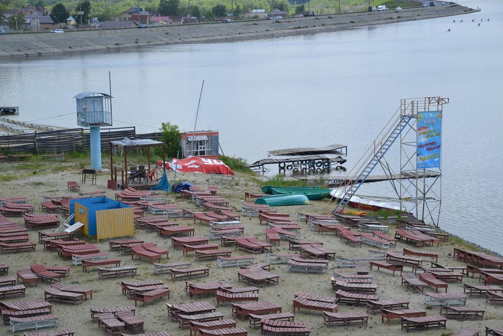 Торжественная церемония открытия купального сезона состоялась 31 мая на спасательной базе Шершни.